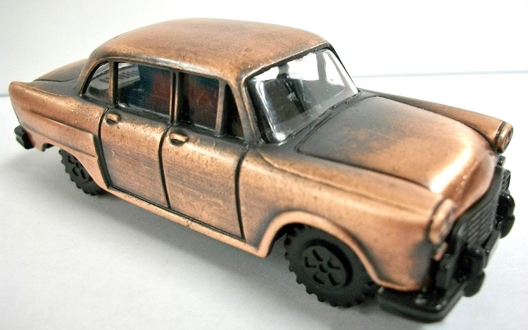 CLASSIC CAR BRONZE PENCIL SHARPENER NEW